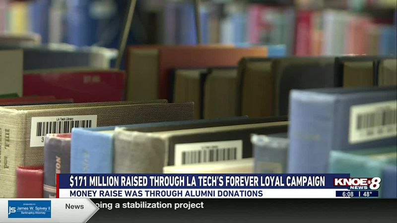 la tech receives millions through alumni donations