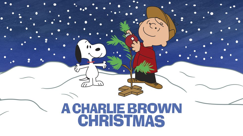 """This image released by Apple shows key art for the animated classic """"A Charlie Brown Christmas""""..."""