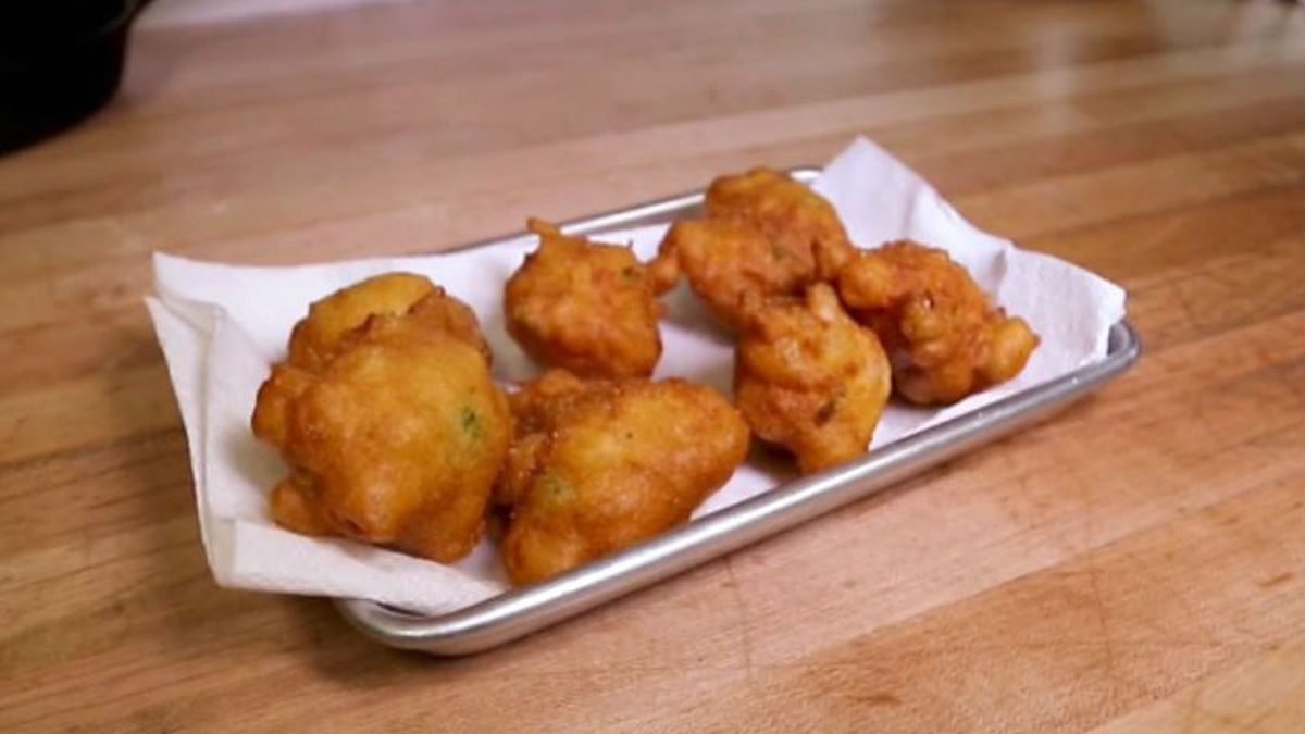 Make hushpuppies like Cory Bahr. (Source: KNOE)