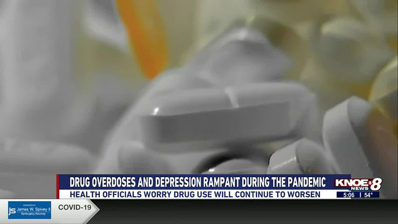 Drug overdoses and depression rampant during the pandemic