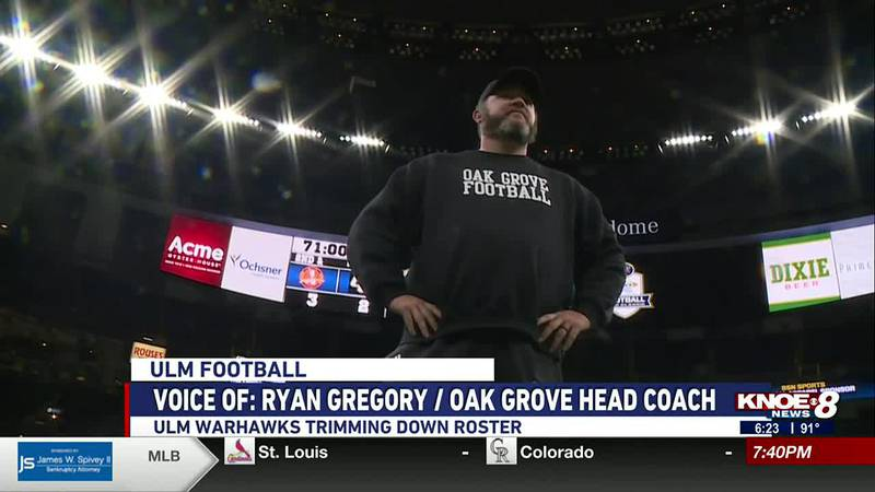 Gregory tells us former Oak Grove Tiger John Bolding was recently cut from the Warhawks as he...